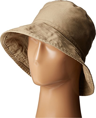 Hat Attack Women's Washed Cotton Crusher Khaki Hat