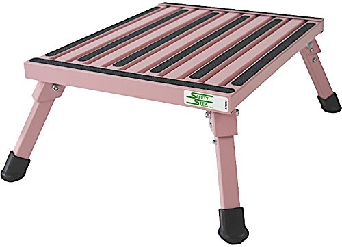 Safety Step F-08C-P Folding Step Large Pink