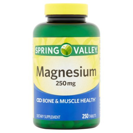Spring Valley Magnesium Bone & Muscle Health 250 Mg 250 Tb