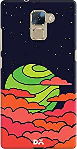DailyObjects Lime Sun Case For Huawei Honor 7