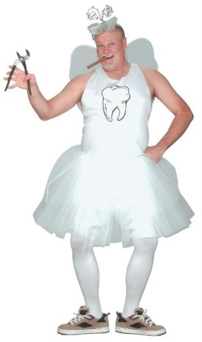 Costume Tooth Fairy Accessories (Tooth Fairy Costume - Plus Size - Chest Size)