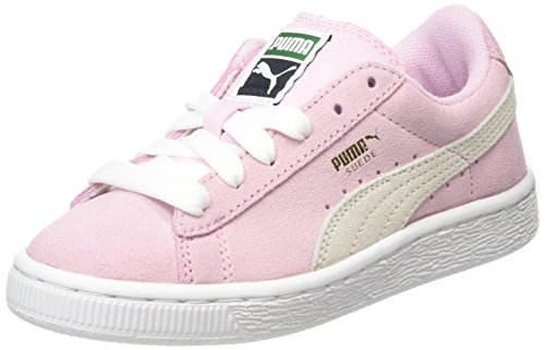 Puma 360757 - Zapatillas de deporte Niñas Rosa (P.Lady/Wht/G 30P.Lady/Wht/G 30)