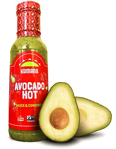 Kumana Avocado Hot Sauce. A Keto Friendly Hot Sauce made with Ripe Avocados, Mango and Habanero Peppers. Ketogenic…