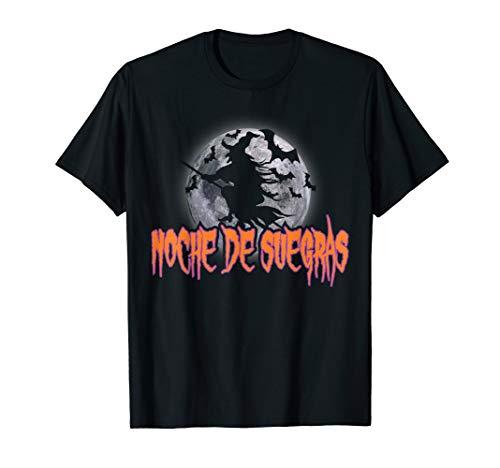 Suegras En Halloween (Noche De Suegras T-Shirt Latino Halloween 2019 Funny)