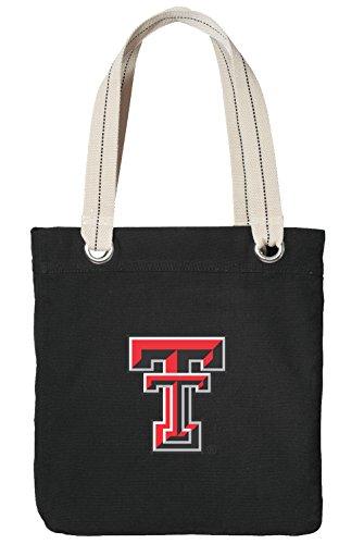Texas Tech Tote Bag Rich Cotton Canvas Texas Tech Red Raiders Bags - Virginia Tech Boxers
