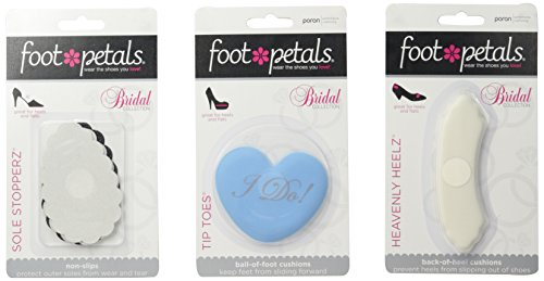 Collection Footwear - Foot Petals Women's I Do Collection Insole, Assorted, Medium/One Size M US