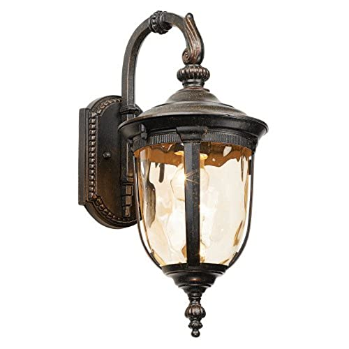Outdoor carriage lights amazon bellagio 16 12 high downbridge outdoor wall light aloadofball Image collections