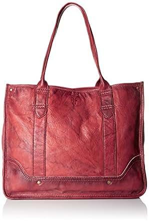 FRYE Campus Shopper Tote Handbag,Burnt Red,One Size