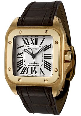 Cartier Santos 100 Ladies Watch W20112Y1