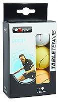 V3Tec Tischtennis Ball FUN 40 mm 6er Packung