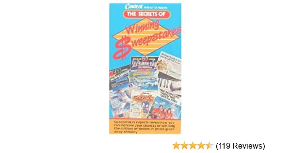 Amazon com: Secrets of Winning Sweepstakes [VHS]: Various: Movies & TV