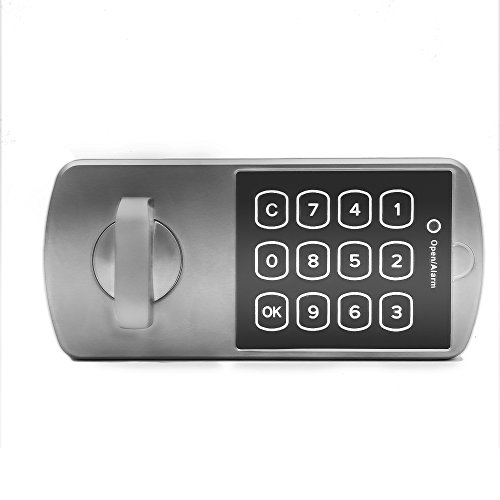 [NATAMO Electronic Keypad Deadbolt ,Zinc Alloy Coded Keyless Entry Door Lock for School Home and Office File Cabinet, Strong Box,Lockers,Wardrobe,Horizontal] (File Wardrobe Cabinets)