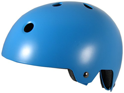 Helmet Sm Matte (SMS Salvation MX Adult Cycling Bike Helmet Specialized for Men & Women - CPSC Certified Safety Protection (Matte Blue, SM/MG))