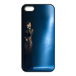 Rihanna In Concert iPhone 4 4s Cell Phone Case Black phone component AU_487395