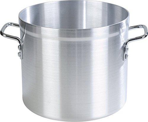- Carlisle 61216 Professional Standard Weight Aluminum Stock Pot, 16 Quart