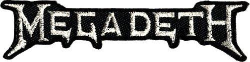 Megadeth Rock - Megadeth Rock Music Band Patch - Peace Sells Silver Logo - Applique