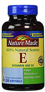 Nature Made Vitamin E 400 IU, 225 Softgels