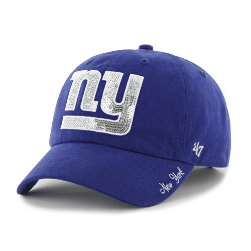 (NFL New York Giants Women's Sparkle Team Color, Royal)