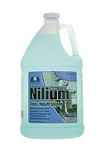 Nilodor 128 WSO Nilium Odor Neutralizer, original, 1 gal, 128 fl oz, 11.75'' Height, 6'' Width