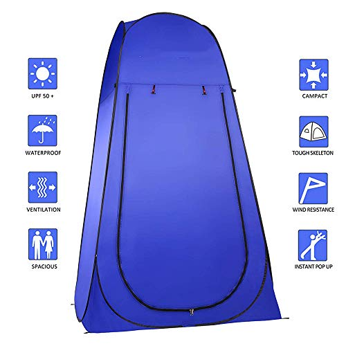 LIUISIYU-Pop-Up-Tent-Outdoor-Changing-Room-Portable-Camping-Shower-Tent-Toilet-Tent-for-Beach-Camping-Dressing-Fishing-Bathing-Foldable-with-Bag
