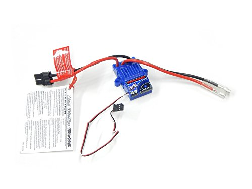 Esc Electronic Speed Control (Traxxas 3018R XL-5 Electronic Speed Control, Waterproof (land version, low-voltage detection, fwd/rev/brake))