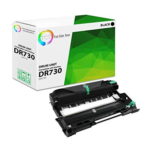 TCT Premium Compatible Drum Unit Replacement for Brother DR-730 DR730 Black Works with Brother MFC-L2750DW L2750DWXL, HL-L2370DW L2370DWXL Printers (12,000 Pages)