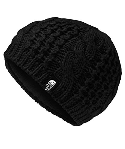 North Face Women Hats (The North Face Girls' Youth Cable Minna Beanie (Sizes S - L) - tnf black, m)