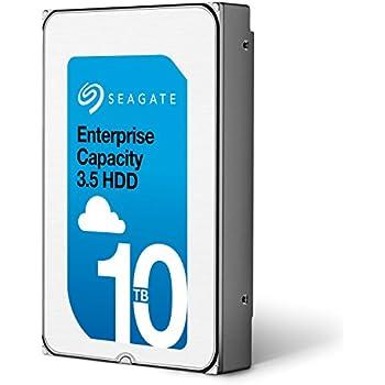 Seagate Enterprise Capacity 3.5 HDD 10TB (Helium) 7200RPM SATA 6Gb/s 256 MB CacheInternal Bare Drive (ST10000NM0016)