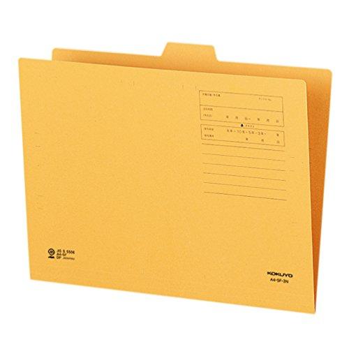 코크 15 가기 폴더 제 3의 제목 A4 A4-5F-3N / Kokuyo 15 Cut Folder 3rd Heading A4 A4-5F-3N