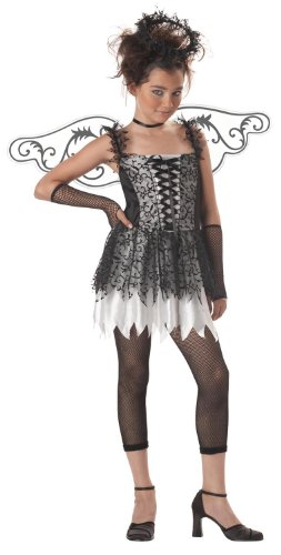 California Costumes Girls Tween Dark Angel, Large (10-12) (Dark Angel Halloween Costume For Kids)