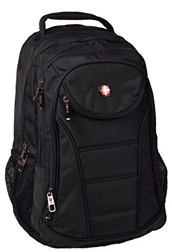 Business Rucksack und Laptoprucksack bis 17'' Backpack in Schwarz 48 cm