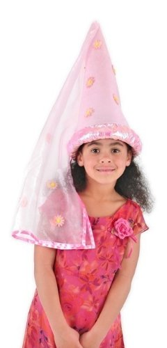(Kids Daisy Princess Pink Cone Hat [Toy])