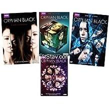 Orphan Black dvd season 1-4