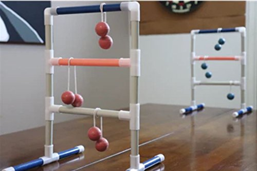 Indoor Ladder Toss: Tabletop Ladder Ball Junior Game
