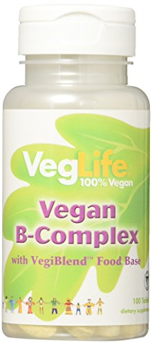 VegLife B-Complex Vegan Tablet, 100 Count