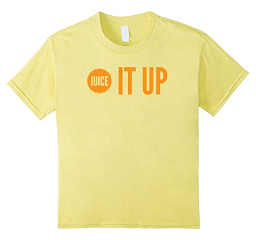 Kids Juice It Up Funny Orange Juicing Smoothie Healthy Diet Shirt 8 Lemon Grub Lemon