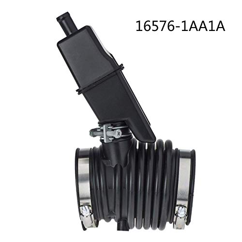 DOEU Car Air Intake Hose Pipe Air Intake Duct Boot Hose Tube Air Cleaner Intake Hose Tube OE# 16576-1AA1A 165761AA1A: