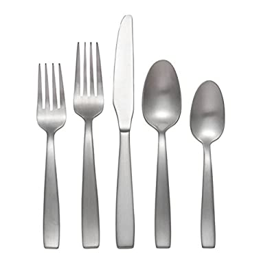 Oneida Everdine 45-Piece Flatware Set, Service for 8
