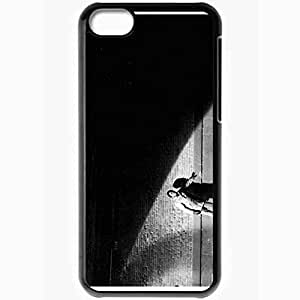 Personalized iPhone 5C Cell phone Case/Cover Skin Andrew hill francis wolff Black