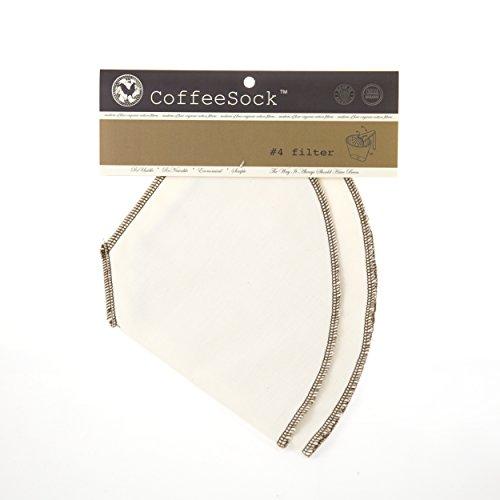 reusable cotton coffee filter - 1