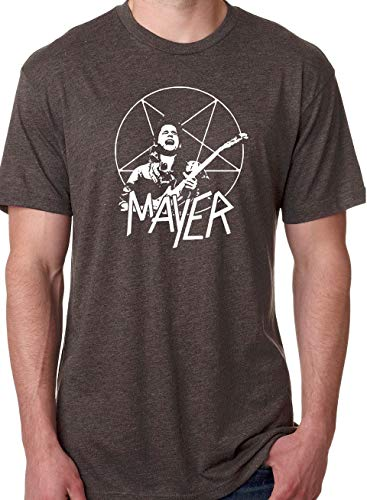 Grateful Dead Inspired Mayer Slayer Tri-Blend - Parody lot T-Shirt Dead and Company Trio Summer Tour (Brown, Large)