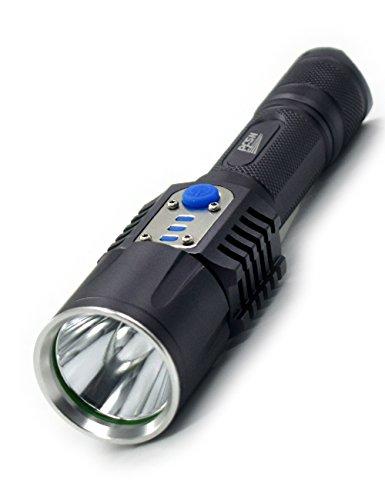 Xenon Tactical Flashlight Torch - 9