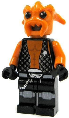 Kranxx - LEGO Space Police Minifigure