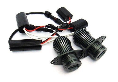 2/x Bernstein CREE LED Angel Eye Halo Ring tags/über Licht Scheinwerfer DRL 20/W CANBUS Leuchtmittel f/ür E90/E91/3/Serie
