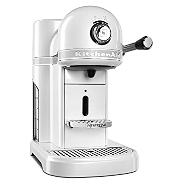 KitchenAid KES0503FP Nespresso Coffee Machine, Frosted Pearl