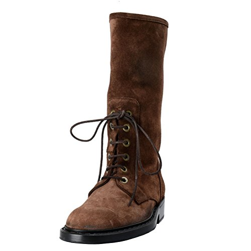 Shoes US Boots 7 Men's EU Dolce 40 amp; Suede Lace 6 Gabbana up Brown IT 0q8xzv