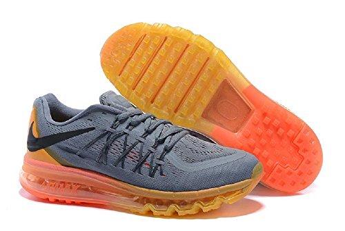 Nike Air Max Men's Running Sneaker Grey/Orange the cheapest cheap price nGo6hgmA