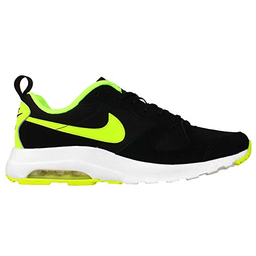 Nike Mens Air Max Muse, Nero / Volt-white, 8,5 M Us