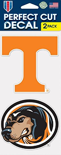 Tennessee Vols Stickers - Tennessee Volunteers Set of 2 Die Cut Decals