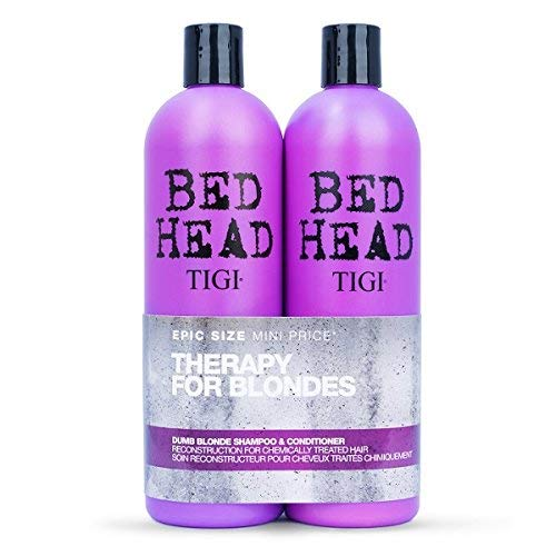 is bed head dumb blonde shampoo sulfate free